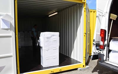 Je lepší na skladování pronajmout sklep či kontejner?