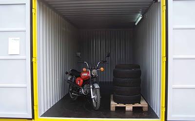 Uskladnění nábytku a další věcí ve skladovacích kontejnerech
